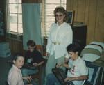 Lois Hornbostel & students